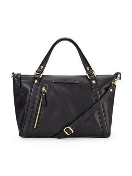 ugg-jenna-leather-satchel-black