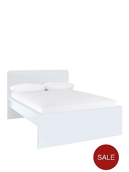 hannah-bed-with-optional-mattress-white
