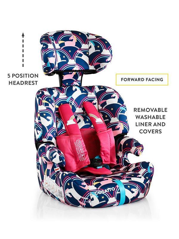 Tremendous Zoomi Group 123 Car Seat Magic Unicorns Pabps2019 Chair Design Images Pabps2019Com