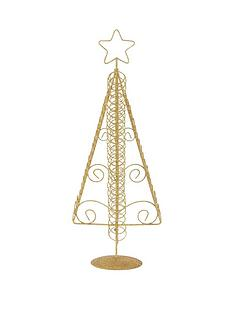 wire-gold-glitter-tree-christmas-card-holder