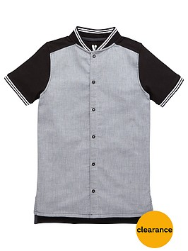 v-by-very-boys-chambray-baseball-shirt