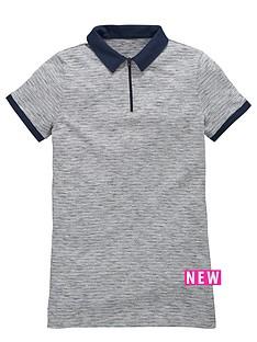 v-by-very-boys-zip-space-dye-polo-shirt