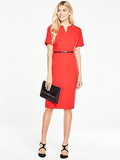 v-by-very-short-sleeve-pencil-dress