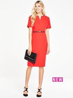 v-by-very-short-sleeve-pencil-dress