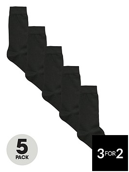 v-by-very-5-pack-cotton-socks