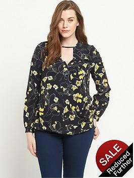 so-fabulous-print-wrap-front-blousenbsp