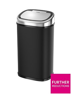 tower-58-litre-square-sensor-bin-in-black