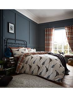 catherine-lansfield-catherine-lansfield-heritage-country-birds-duvet-cover-set