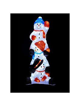 light-up-acrylic-snowmen-outdoor-christmas-decoration