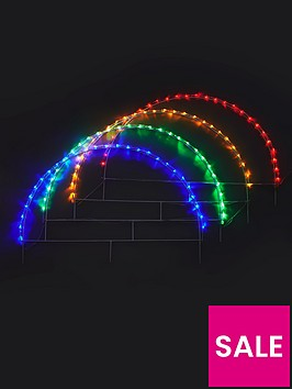 colour-changing-led-christmasnbsparchway-pathfinders-set-of-4