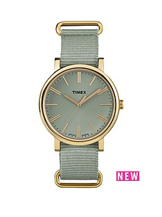 timex-timex-originals-tonal-sage-dial-sage-strap-ladies-watch
