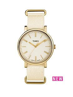 timex-timex-originals-tonal-cream-dial-cream-strap-ladies-watch