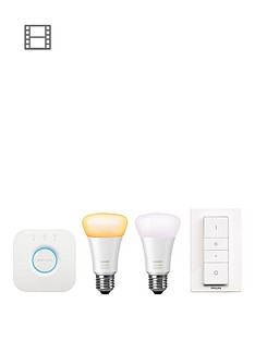 philips-hue-white-ambiance-e27-led-starter-kit