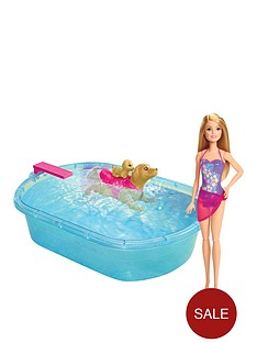 barbie-smimming-pup-pool