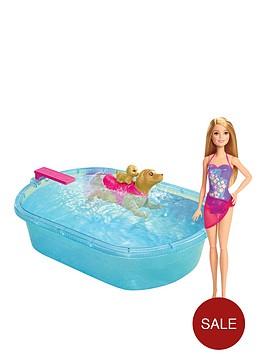 barbie-smimming-pup-pool