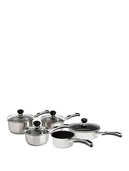 sabichi-living-easy-grip-5-piece-pan-set