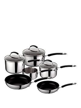 raymond-blanc-by-anolon-6-piece-stainless-steel-pan-set