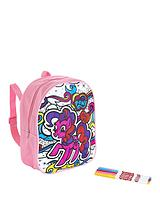 My Little Pony Scribble Me Backpack - Pinkie Pie