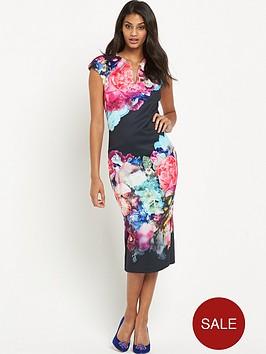 ted-baker-focus-bouquet-neoprene-dress