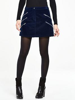 v-by-very-multinbspzip-velvet-mini-skirt