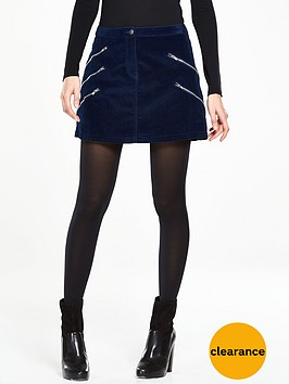 v-by-very-multinbspzip-velvet-mini-skirt