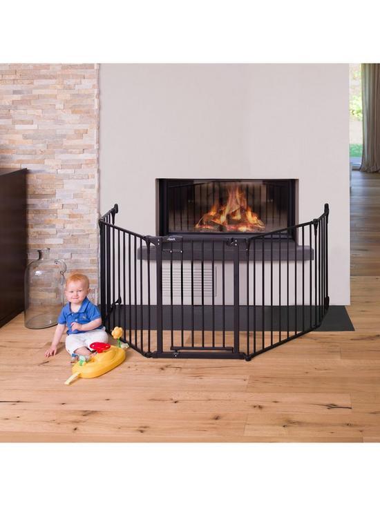 f0dcb8c1f40d Hauck Fireplace guard XL Charcoal