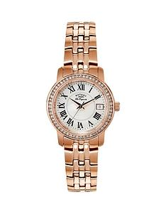 rotary-classic-white-dial-rose-tone-bracelet-ladies-watch