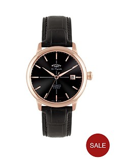 rotary-classic-rose-plated-case-leather-strap-mens-watch