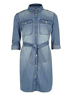 river-island-girls-blue-wash-denim-shirt-dress