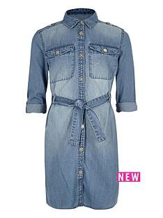 river-island-girls-blue-wash-denim-shirt-dress
