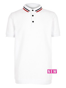 river-island-boys-white-tipped-polo-shirt