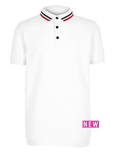 river-island-boys-white-tipped-polo-shirt