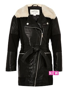 river-island-girls-pu-and-fauxnbspfurnbsplonglinenbspcoat
