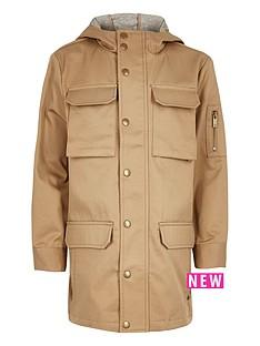 river-island-boys-stone-lightweight-utility-coat