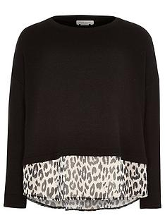 river-island-girls-jumper-with-leopard-chiffon-layer