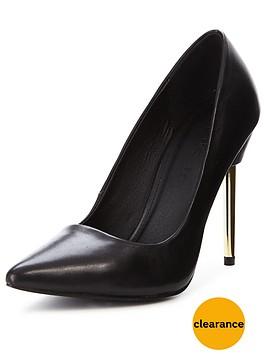 myleene-klass-sienna-leather-metal-heel-pointed-court-shoes-black
