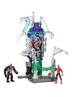 marvel-spiderman-web-city-daily-bugle-battle