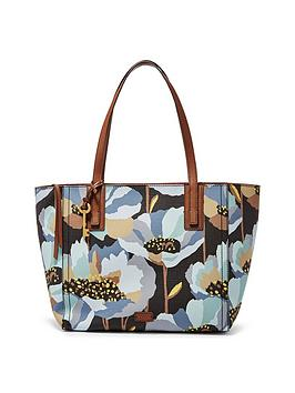 fossil-emma-printed-shopper