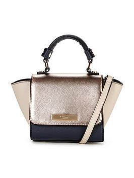 dune-multiway-mini-colour-block-winged-tote