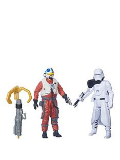 star-wars-star-wars-the-force-awakens-375-inch-2-pack-snap-wexley-and-first-order-snowtrooper-officer