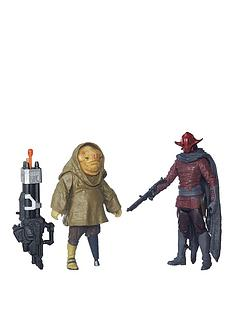 star-wars-star-wars-the-force-awakens-375-inch-2-pack-sidon-ithano-and-first-mate-quiggold