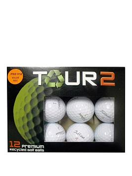 longridge-titleist-pro-v1x-value-mixed-lake-balls-12-pack