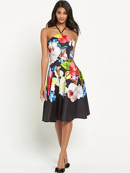 ted-baker-forget-me-not-halterneck-dress