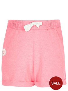 river-island-girls-pink-boxy-badge-shorts
