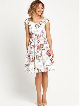 myleene-klass-floral-prom-dressnbsp