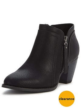 wallis-atlanta-side-zip-ankle-boot