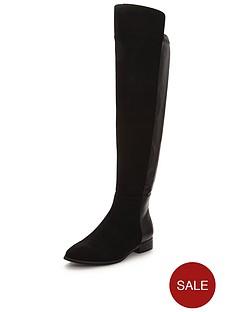 wallis-hopper-flat-stretch-knee-boot