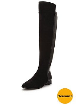 wallis-hopper-flat-stretch-knee-boot
