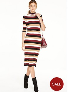 v-by-very-stripe-turtle-neck-midi-dressnbsp