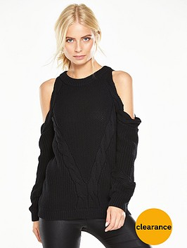 v-by-very-cold-shoulder-braided-cable-knit-jumper
